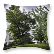 House On The Hill 3 Throw Pillow