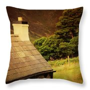 House On The Hills. Wicklow. Ireland Throw Pillow