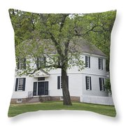 House On The Palace Green Throw Pillow