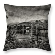 House On The River Throw Pillow