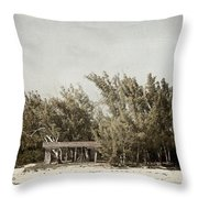 House On The Water Throw Pillow