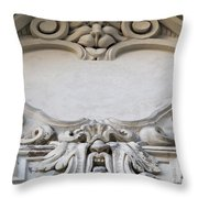 House Sign - Relief Throw Pillow