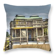 Houseboat 3 Throw Pillow
