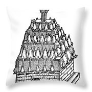 Household Still, 1616 Throw Pillow