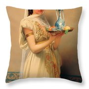 Housemaid  Throw Pillow