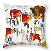Houses 0268 Marucii Throw Pillow