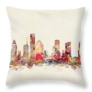 Houston Texas Throw Pillow
