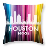 Houston Tx 2 Throw Pillow