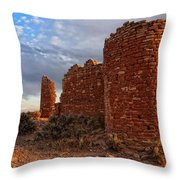 Hovenweep Castle Throw Pillow