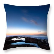 Hovering In The Sky Throw Pillow