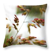 How Easily They Sway Throw Pillow