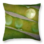 How The Moon Was Born Throw Pillow