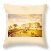 Howard John George 1803 1890 Throw Pillow
