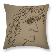 Howard Stern Throw Pillow