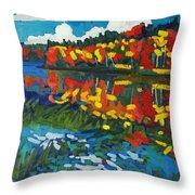 Howry Creek Throw Pillow