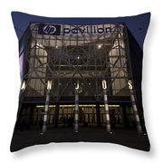 Hp Pavilion At Night Throw Pillow