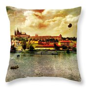 Hradczany - Prague Throw Pillow