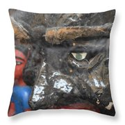 Hsssss Chica... Throw Pillow