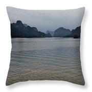 Hu Long Bay   #0705 Throw Pillow