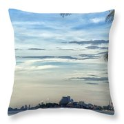 Hua Hin Coastline 02 Throw Pillow