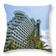 Hua Hin Hotel Throw Pillow
