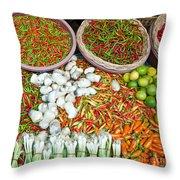 Hua Hin Market 03 Throw Pillow