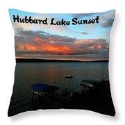 Hubbard Lake Throw Pillow