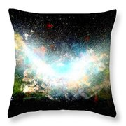 Hubble Birth Of A Galaxy Throw Pillow