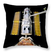 Hubble Space Telescope Redeployment  Throw Pillow