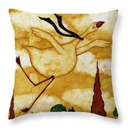 Soaring In Style Throw Pillow