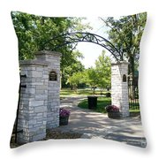 Hudson Crossing Park Throw Pillow
