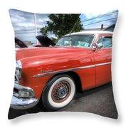 Hudson Hornet Throw Pillow