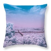 Hudson Valley Landscape Throw Pillow