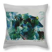 Hued In Throw Pillow