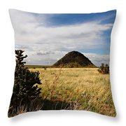 Huerfano Butte Throw Pillow