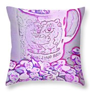 Hug Me - I Hug Back Throw Pillow