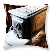 Huge Antique Wood Stove Throw Pillow
