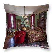 Huguette Clark's Bedroom -- Butte Montana Throw Pillow