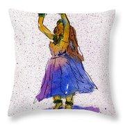 Hula Series Melika Throw Pillow
