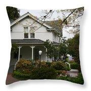 Hulda Klager House Throw Pillow