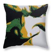 Hulk - Incredibly Close Throw Pillow