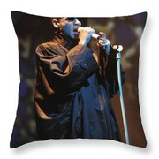 Human League Throw Pillow