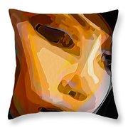 Human Nature Throw Pillow