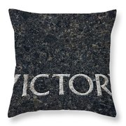 Human Rights Victory Throw Pillow