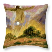 Human Spirit Throw Pillow