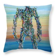 Human Syndrome Throw Pillow
