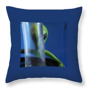 Aliens Stink At Hide And Go Seek Throw Pillow