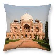 Humayuns Tomb Throw Pillow