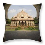 Humayuns Tomb, India Throw Pillow