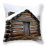 Humble Shelter Throw Pillow by Olivier Le Queinec
